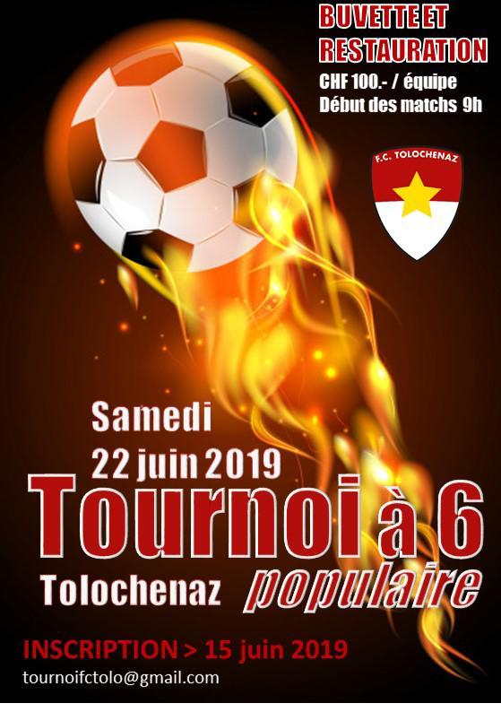 Tournoi à 6 édition 2019